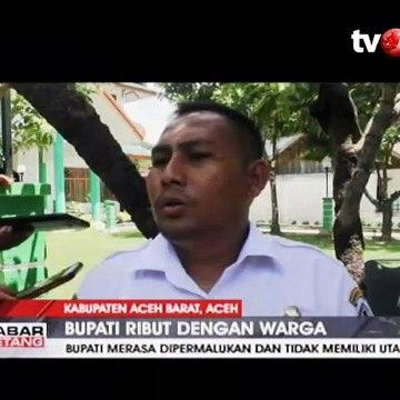 Bupati Aceh Barat Duel dengan Warganya Viral di Media Sosial