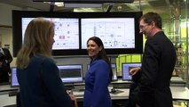 Priti Patel visits carbon capture research facility