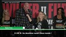 Poids-lourds - Fury assure qu'il mettra Wilder K.O. en deux rounds !