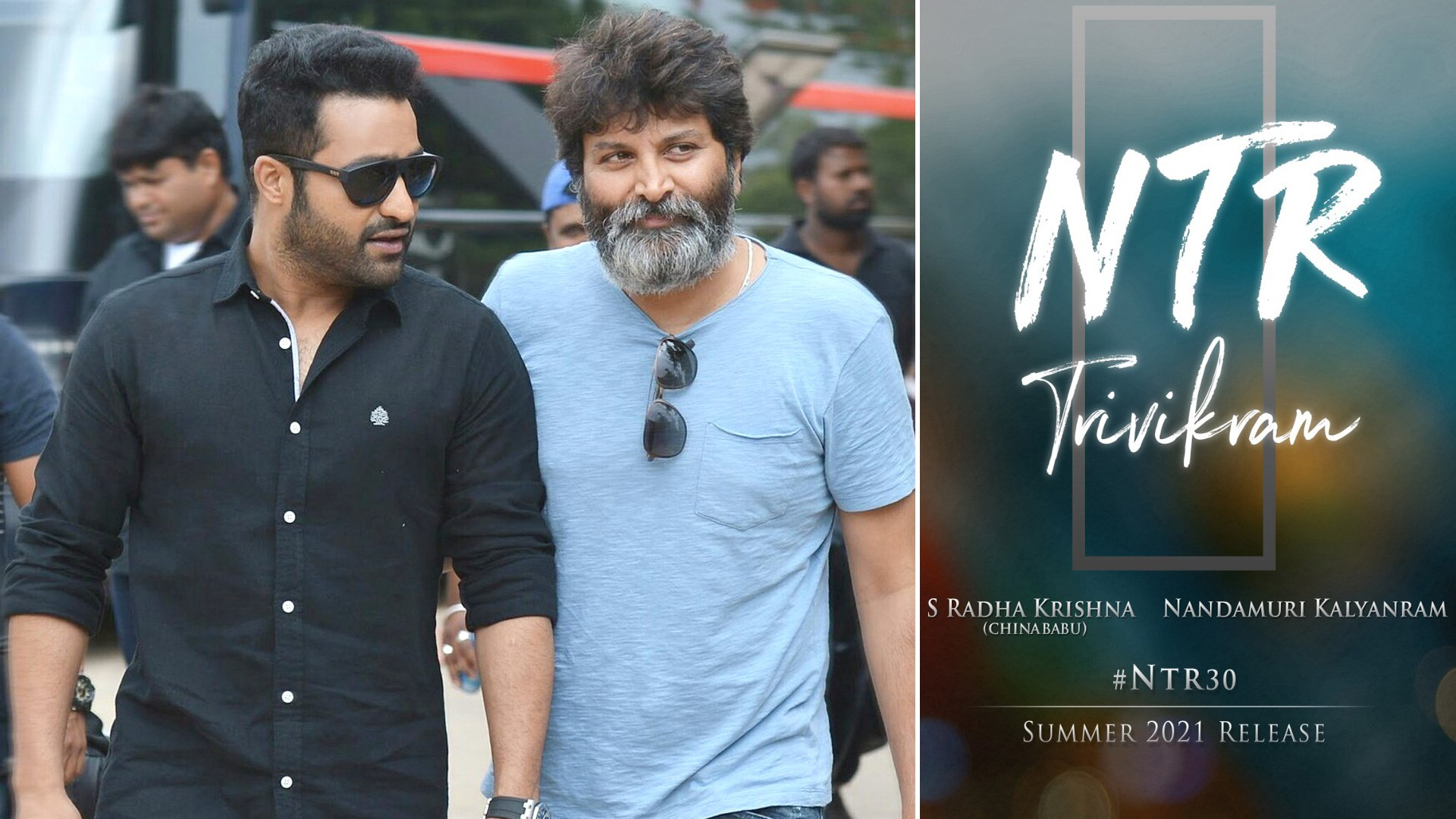Ntr 30 : Ntr Trivikram Movie To Hit The Screens On Summer 2021 - Video  Dailymotion