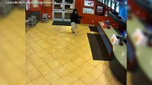 Married Off-Duty Cops Stop Armed Robber At Fast Food Restaurant
