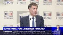 """Olivier Faure sur les propos de Christophe Castaner: """"Une ligne rouge a été franchie"""""""