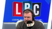 """Immigration: Furious James O'Brien caller """"doesn't recognise his own street"""""""