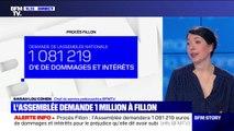 L'Assemblée nationale va demander plus d'un million d'euros de dommages et intérêts à François Fillon lors de son procès