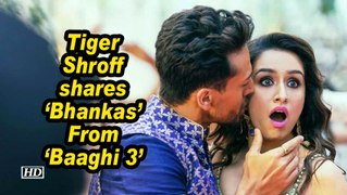 Tiger Shroff shares 'Bhankas' From 'Baaghi 3'