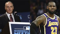 LeBron James Chimes In On MLB Sign-Stealing Scandal, Rips Rob Manfred