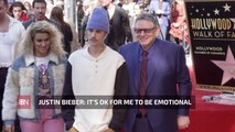 Justin Bieber Is In Touch With His Feelings