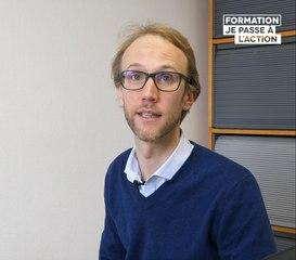 Mon histoire de formation | Grâce à une formation directement réservée sur #MonCompteFormation, Clément se forme en anglais