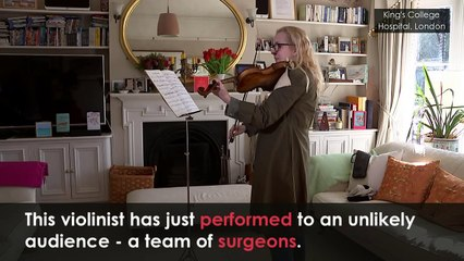 Incredible Video of Violinist Playing During Brain Surgery