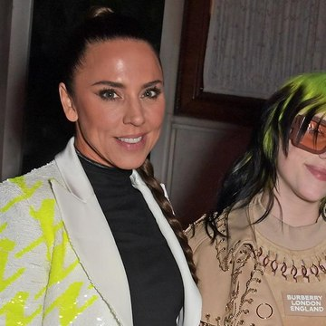 Billie Ellish and Mel C party at the Brits after-party in London