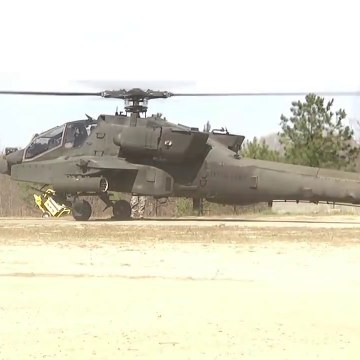 Military Weapons_The Apache Helicopter AH-64 Shows Monstrous Power & Capability_HD