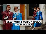 New York Fashion Week 2020: Twin Looks (BEST outfits so far) | Q2HAN