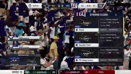 PML Week 13 vs Cowboys