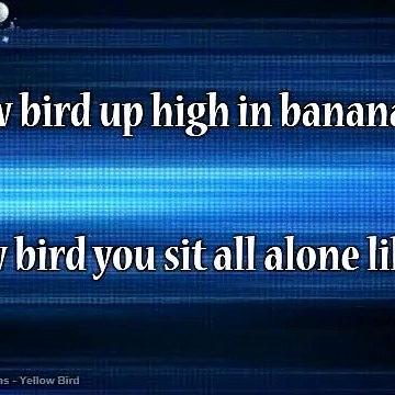 Gene Ammons - Yellow Bird Karaoke Version
