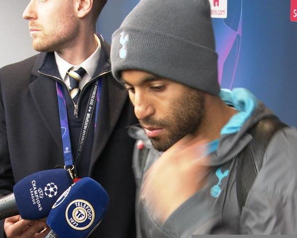 """Tottenham - Lucas : """"Dommage d'avoir concédé un penalty"""""""