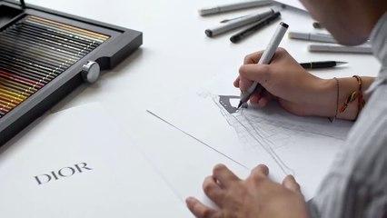 هكذا يتم تطوير شكل Bar Jacekt من Dior