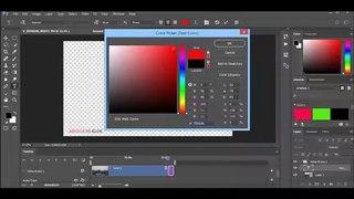 Photoshop CC Convert PSD File to MP4 HD Video / ফটোশপ সিসি PSD ফাইলকে MP4 HD ভিডিওতে রূপান্তর করুন