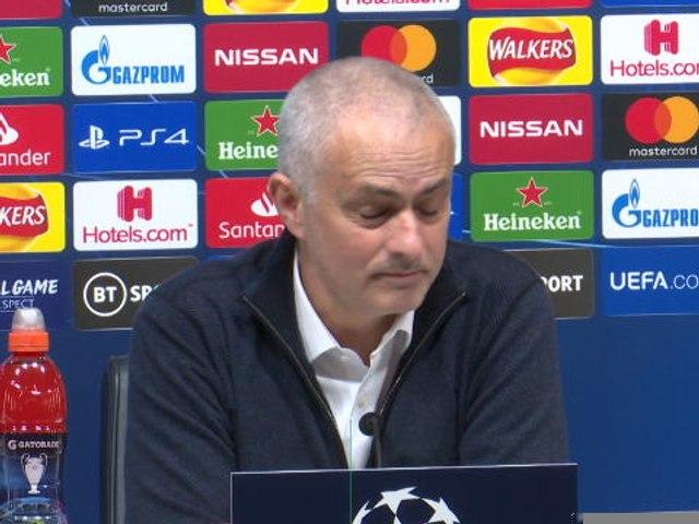 """Tottenham - Mourinho : """"Très fier de mes joueurs"""""""