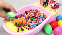 Baby Doll Bath Time Glitter Slime Learn Colors and Paw Patrol Pups Play Doh Dots Surprise Eggs ToysBaby Doll Bath Time Glitter Slime Learn Colors and Paw Patrol Pups Play Doh Dots Surprise Eggs Toys