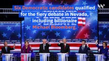 Top Moments From the Democratic Debate in Nevada