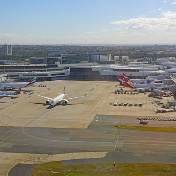 Sydney Airport (ASX:SYD) report EBITDA up 4%
