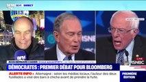 Primaires démocrates: échanges tendus entre Michael Bloomberg et Bernie Sanders sur leur patrimoine en plein débat