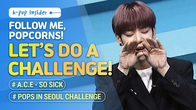 [Pops in Seoul] Zico's 'Any song' challenge & A.C.E's 'So Sick' challenge!?