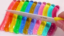 Jelly Soft Stick Pudding Gummy and Baby Doll Play Doh Bath Time Surprise Eggs Toys