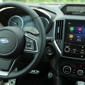 The new Subaru XV ECO HYBRID Interior Design