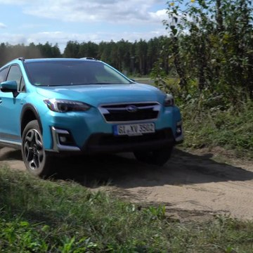 The new Subaru XV ECO HYBRID Off road driving