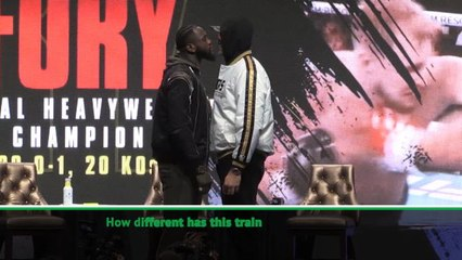 I can throw my right hand at full power this time - Wilder