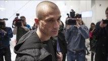 Affaire Benjamin Griveaux - la vidéo de l'arrestation de Piotr Pavlenski dévoilée