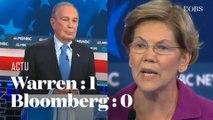 Elizabeth Warren se paye Michael Bloomberg pendant le débat démocrate