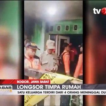Longsor di Ciawi Bogor Timpa Rumah, Satu Keluarga Tewas