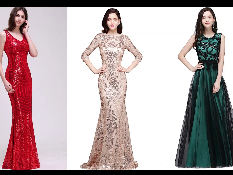 VESTIDOS DE FIESTA LARGOS / PARTY DRESSES / Fashion And Beauty