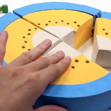 Learn Colors Shape It Sand Rainbow Sun Toys Surprise Toys Creative Fun For Kids