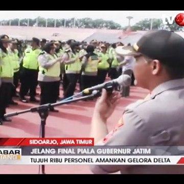 Ribuan Personel TNI-Polri Siap Amankan Gelora Delta