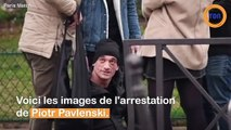 Affaire Griveaux : découvrez la vidéo de l'arrestation de Piotr Pavlenski