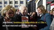 Jean Daniel, le fondateur du « Nouvel Observateur », est mort