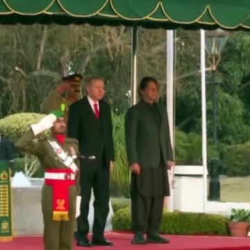 Erdogan Ka Wazeer E Aazam House Mein Shandar Istaqbal Ky Manazar