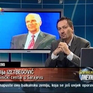Najjača poruka Alije Izetbegovića građanima i političarima u  BIH