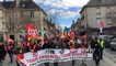 Manifestation de l'intersyndicale contre la réforme des retraites
