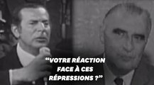 Déjà il y a 50 ans, Jean Daniel interpellait Pompidou sur les violences policières