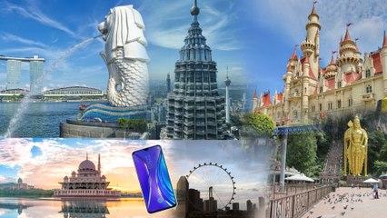 Singapore - Malaysia Travel Video | Shot On Realme XT