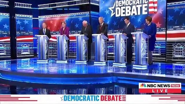 Las Vegas Democratic Debate Highlights: Bloomberg Comes Under Fire In His First Presidential Debate