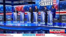 Las Vegas Democratic Debate Highlights: Bloomberg Comes Under Fire In His First Presidential Debate
