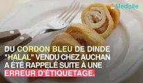 Auchan : du cordon bleu retiré de la vente en raison d'une erreur d'étiquetage