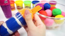 Learn Colors Clay How To Make Play Doh Ice Cream DIY Colors Bunny Mold