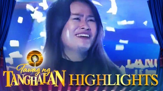 Shane Ambor steals the golden microphone from Luzviminda Piedad | Tawag ng Tanghalan