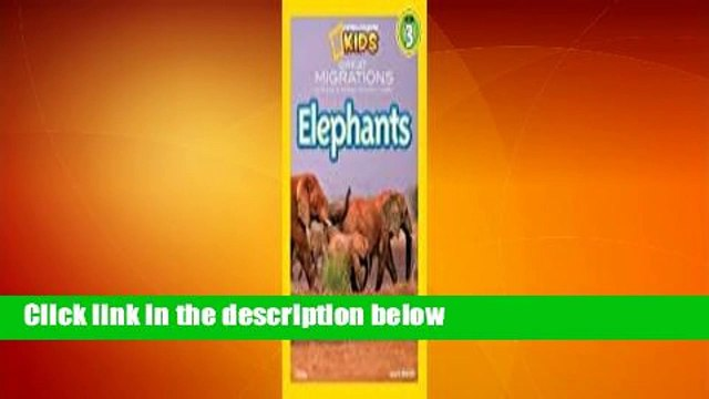 About For Books  Great Migrations: Elephants  For Free
